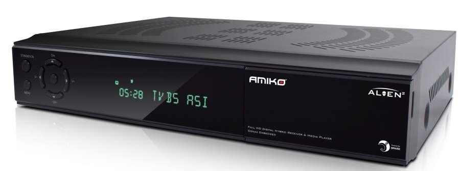 Amiko ALIEN 2 Twin tuner - používaný