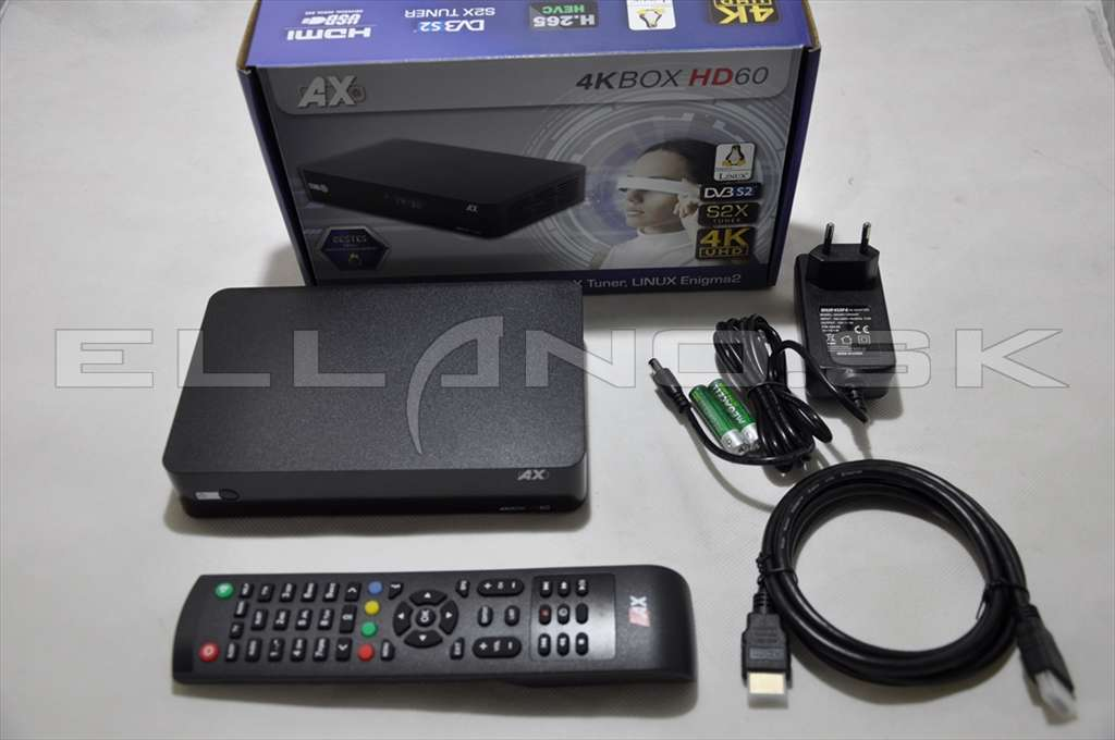 opticum ax 4kbox hd60 10