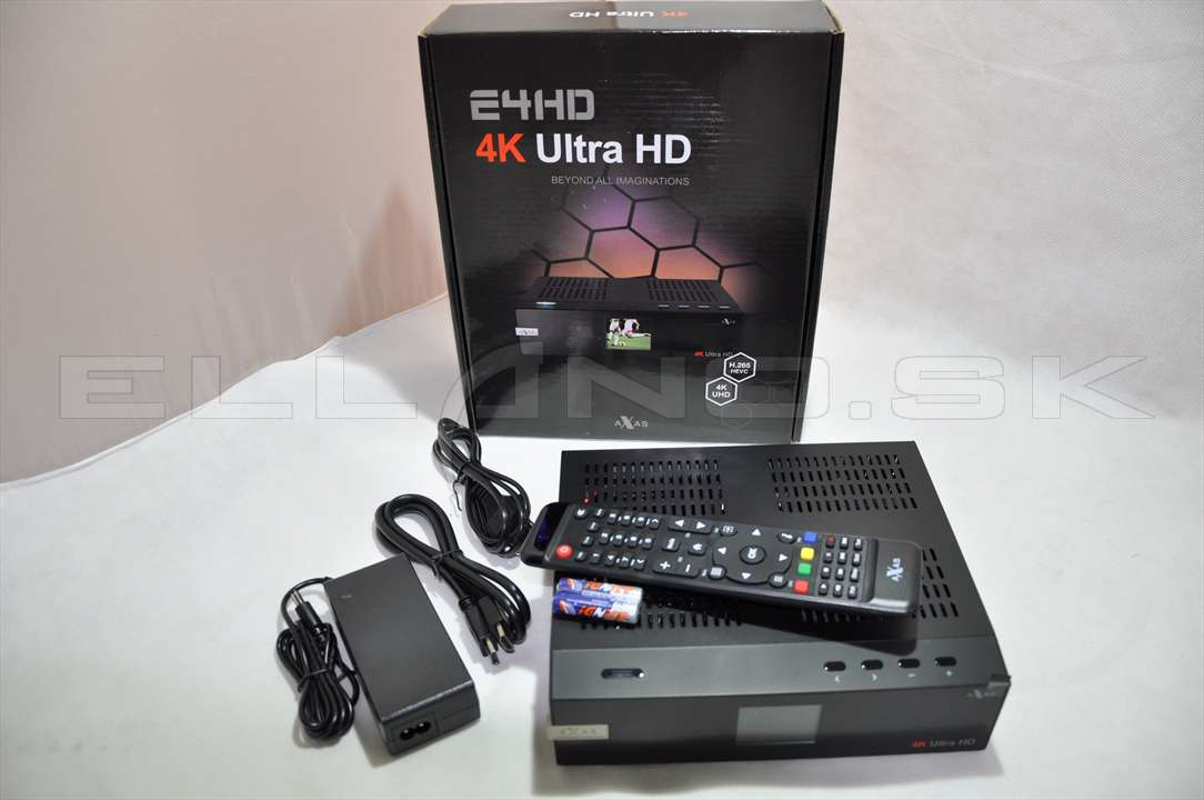 axas e4hd 4k ultra hd 6